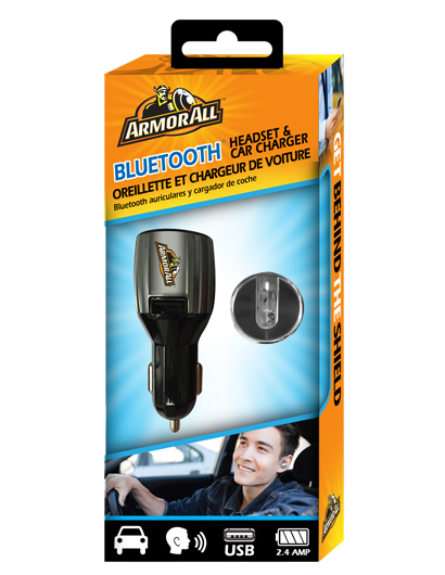 Armor All: Bluetooth Headset & Car Charger