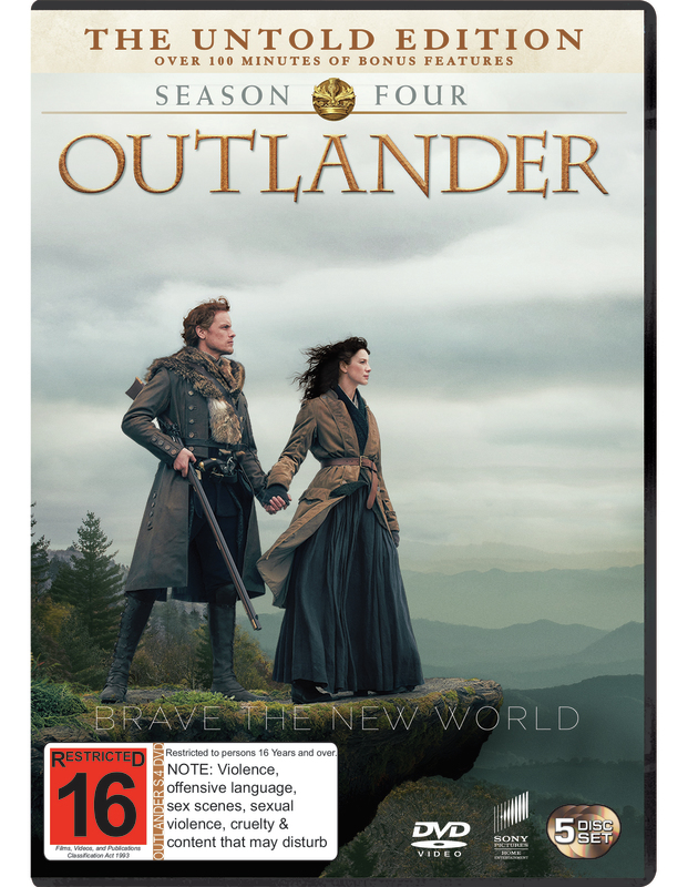 Outlander Season 4 on DVD