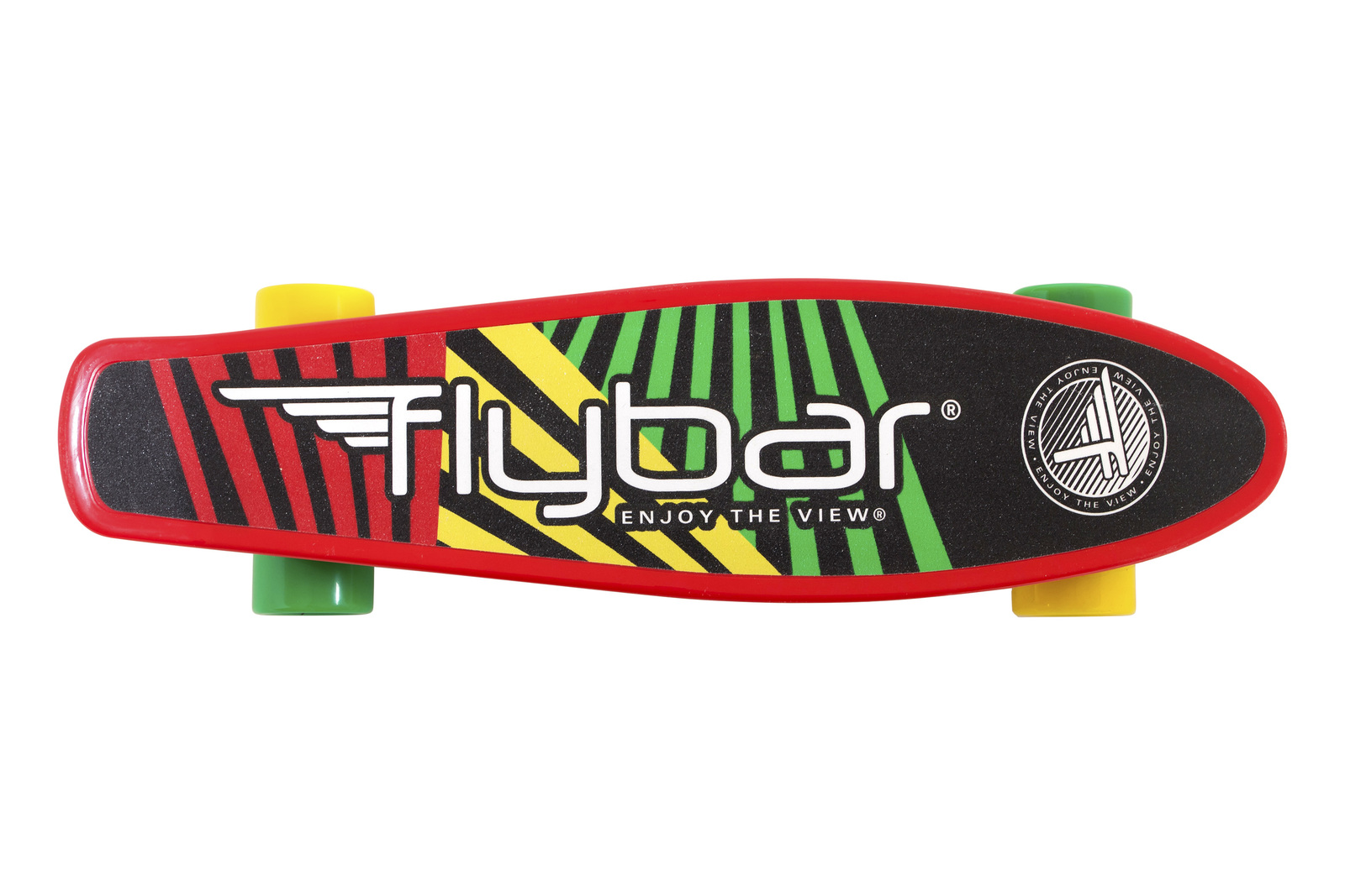 "Flybar: Grip Tape Cruiser - 22"" Skateboard (Red Flag) image"