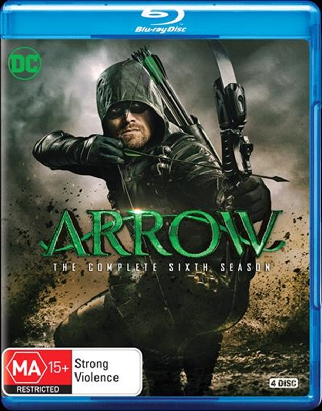 Arrow Season 6 on Blu-ray