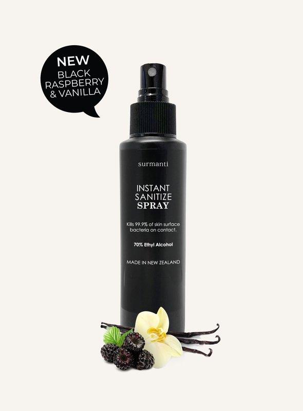 Surmanti: Instant Hand Sanitiser - Raspberry + Vanilla (120ml)