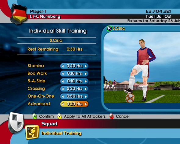 LMA Manager 2004 for Xbox image