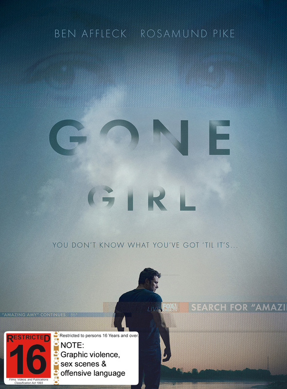 Gone Girl on DVD