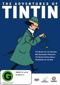 Adventures of Tintin - Vol 3 on DVD