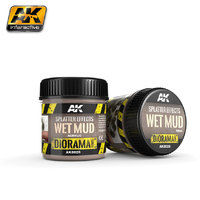 AK Splatter Effects Wet Mud (100ml)