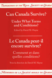 Can Canada Survive? Under What Terms and Conditions? image