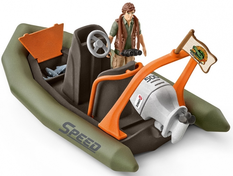 Schleich: Dinghy with Ranger image