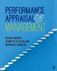 Performance Appraisal and Management by Kevin R Murphy