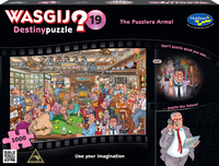 Wasgij: 1000 Piece Puzzle - Destiny #19 (The Puzzlers Arms) image