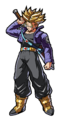 Dragonball Fighter Z: SS Trunks (#175) - Collectors FiGPiN
