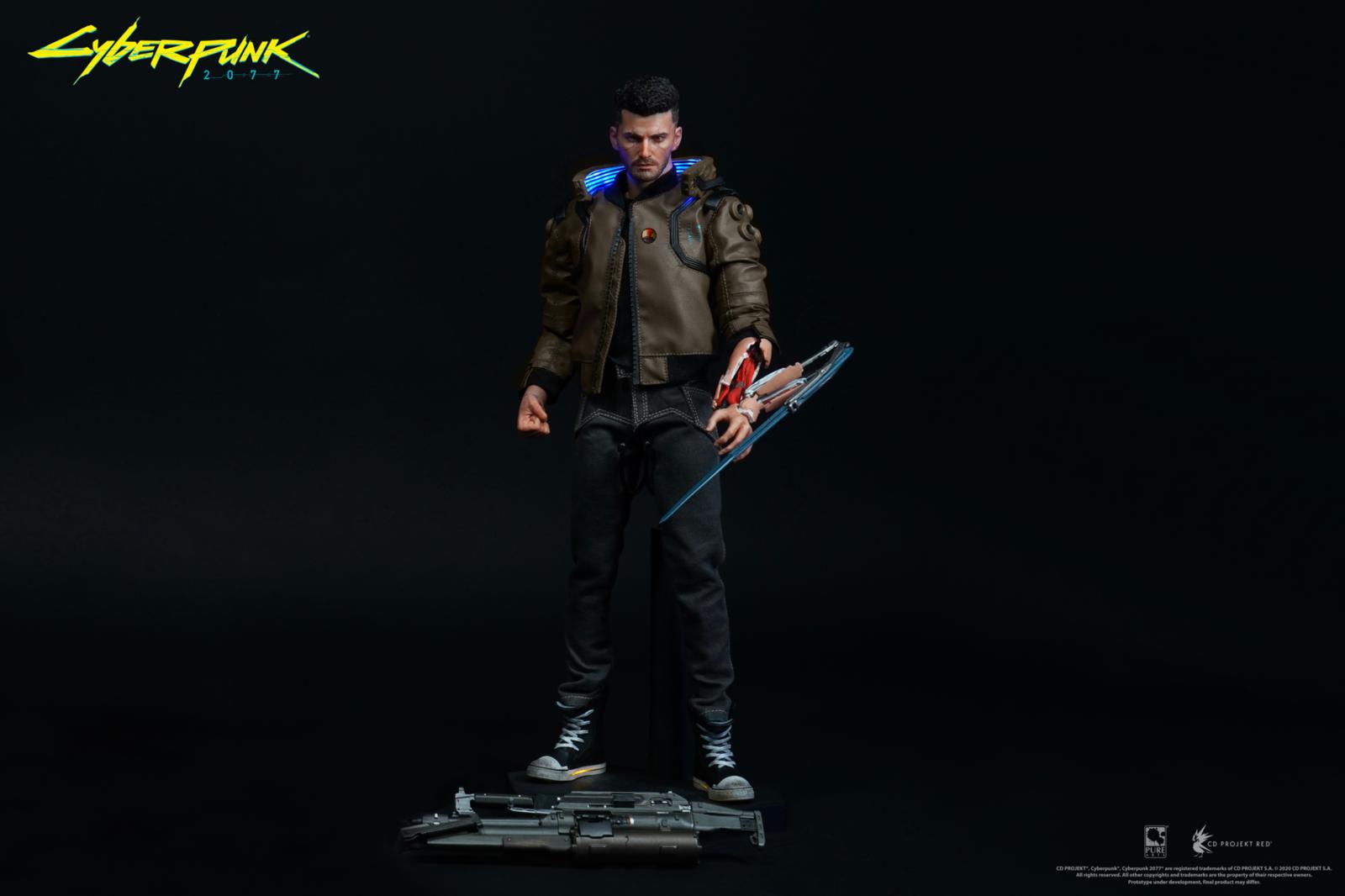 Cyberpunk 2077: V-Male & Yaiba Kusanagi - 1:6 Scale Articulated Figure Set image