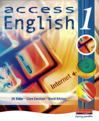 Access English 1 Student Book by Jill Baker image