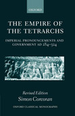 The Empire of the Tetrarchs by Simon Corcoran