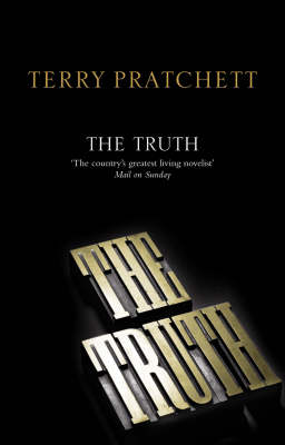 The Truth (Discworld - Ankh-Morpork Times / City Watch) (black cover) by Terry Pratchett image