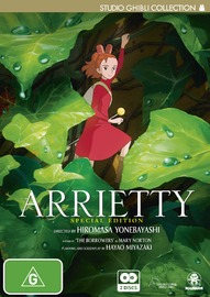 Arrietty (Special Edition) on DVD