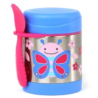 Skip Hop: Zoo Insulated Food Jar - Butterfly