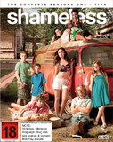 Shameless - The Complete Seasons 1-5 on Blu-ray