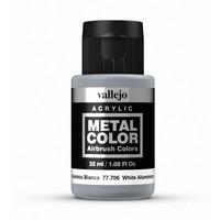 Vallejo Metal Colour White Aluminium (32ml)
