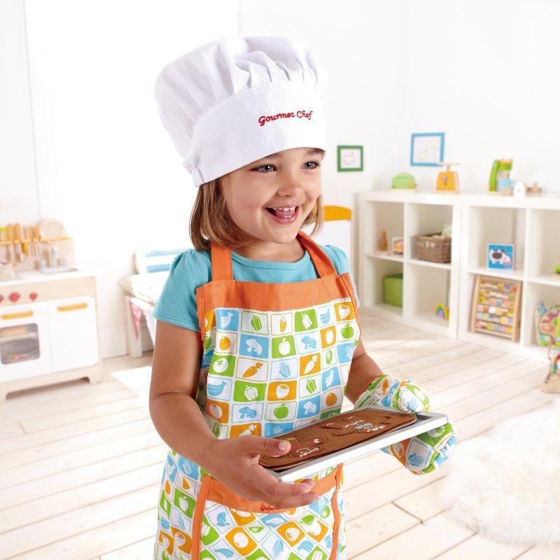 681ed406596 Hape  Chef s Apron   Hat Set for Kids ...