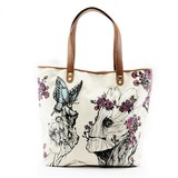 Loungefly Marvel GOTG Groot Floral Tote Bag