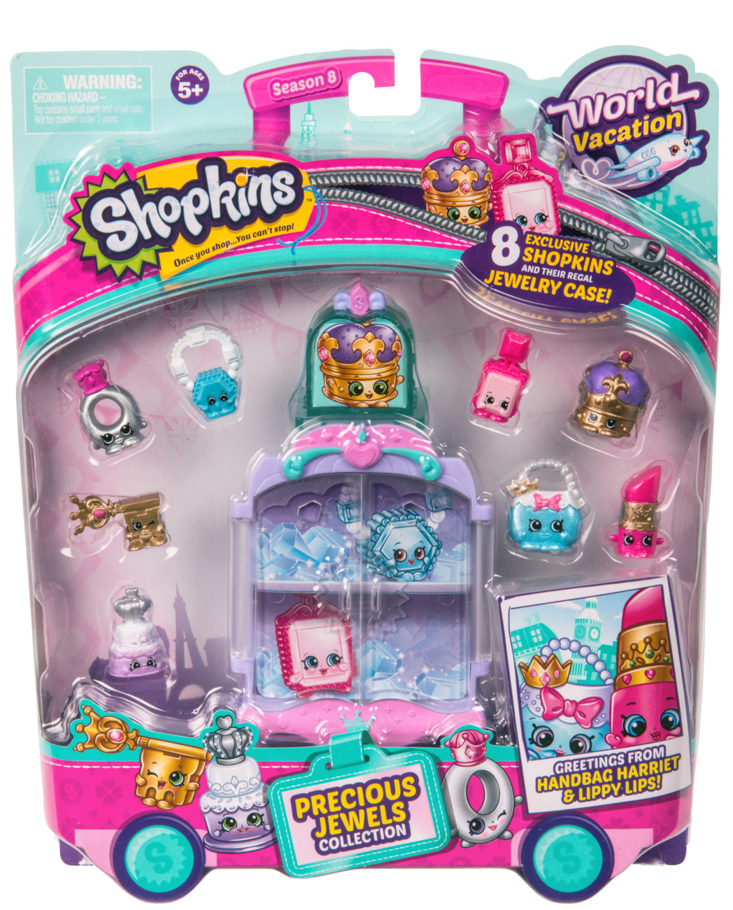 Shopkins: World Vacation - Themed Pack (Precious Jewels) image