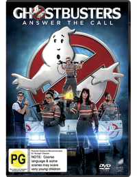 Ghostbusters (2016) on DVD image