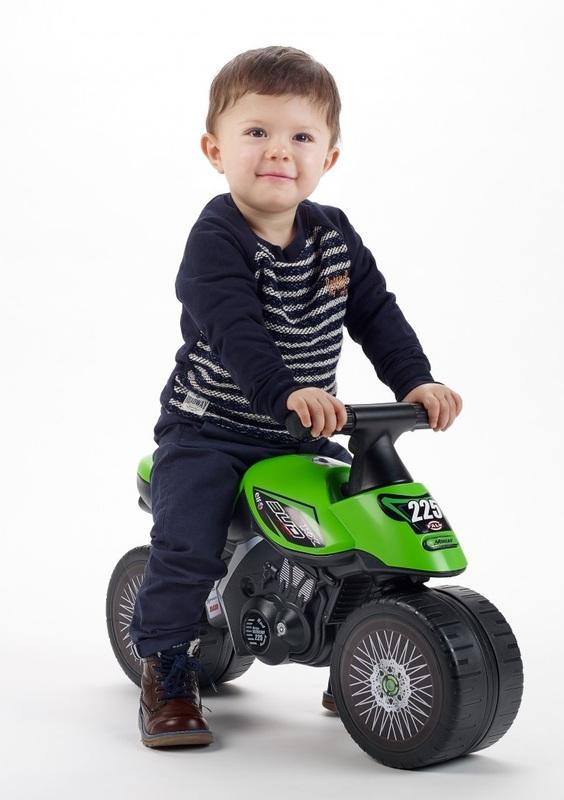 Moto: Kawasaki KX Buddy Bike - Green