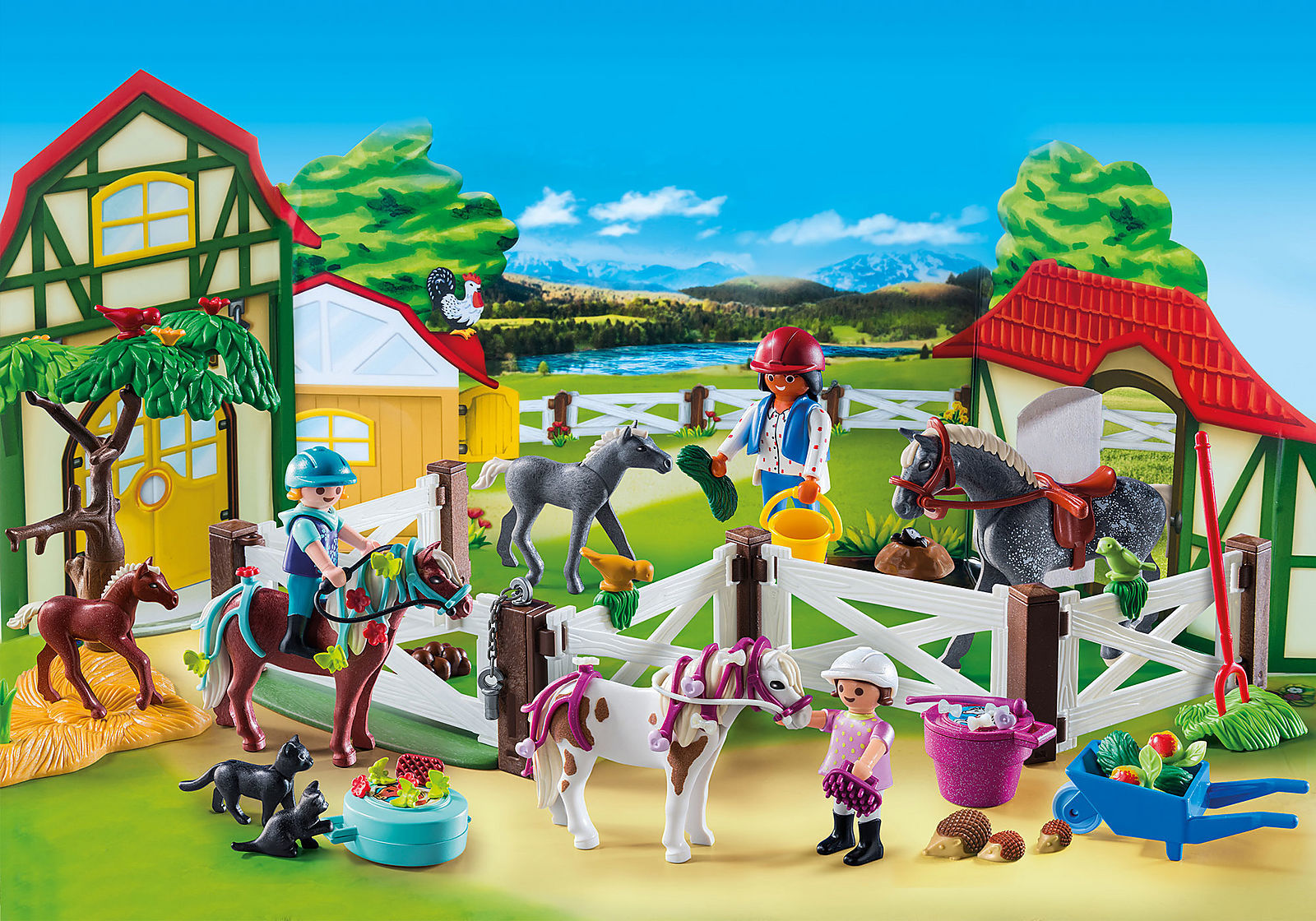 Playmobil: Advent Calendar - Horse Farm image