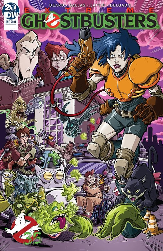 Extreme Ghostbusters - (35th Anniversary) by Jim Beard