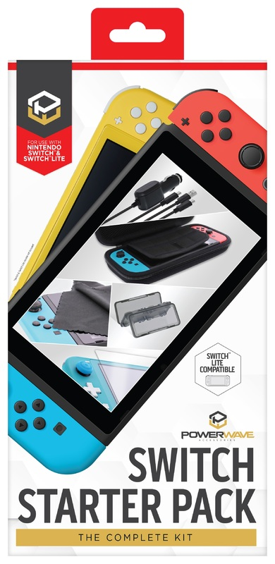 Powerwave Switch Accessory Starter Pack for Switch