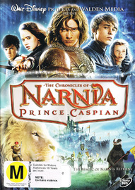 Chronicles Of Narnia, The - Prince Caspian on DVD