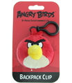 Angry Birds: Backpack Clip Toy - red