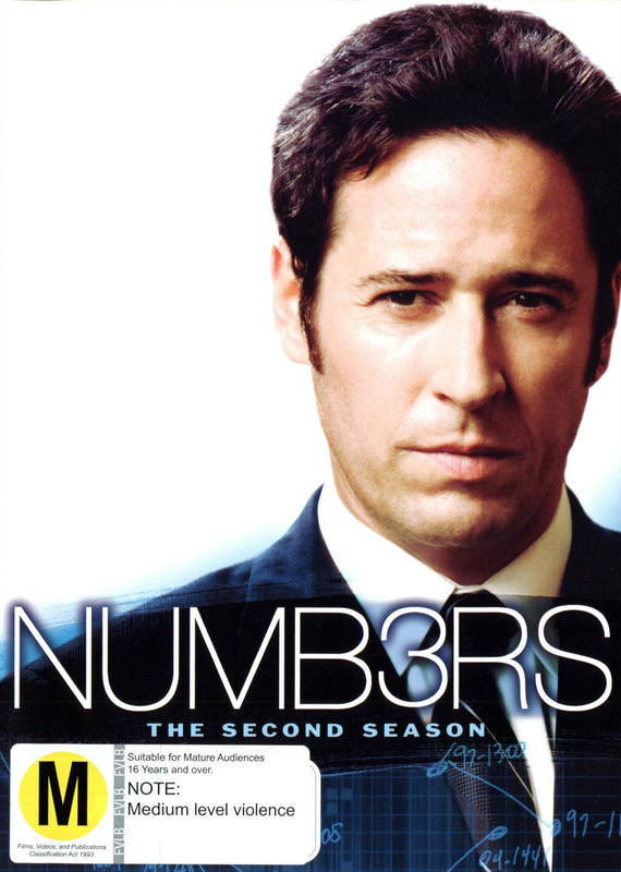 Numb3rs (Numbers) - Complete Season 2 (6 Disc Set) on DVD