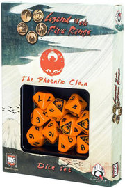 Legend of the 5 Rings Dice Set - Phoenix Clan