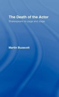 The Death of the Actor by Martin Buzacott image