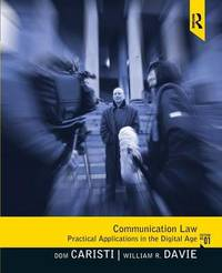 Communication Law by Dominic G. Caristi