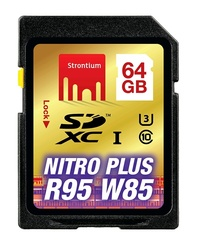 64GB Strontium NITRO Plus Series SD Card