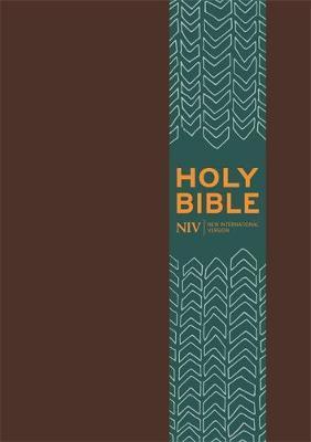 NIV Pocket Brown Imitation Leather Bible by New International Version image