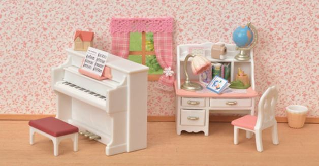 Sylvanian Families: Piano & Desk Set