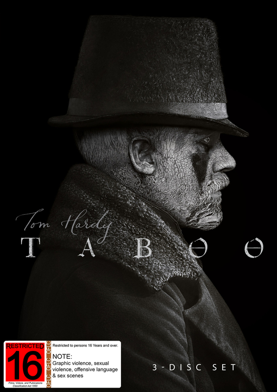 Taboo - Season 1 on DVD