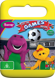 Barney - Let The Games Begin And Other Stories on DVD image