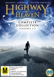 Highway To Heaven - Complete Collection (Seasons 1-5) on DVD