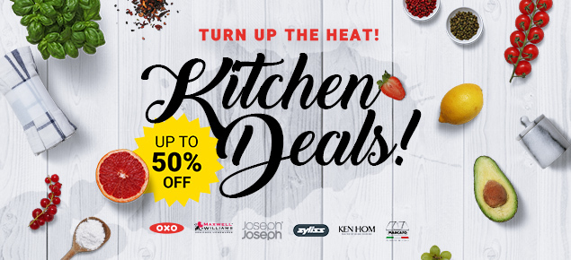 Turn up the Heat - Kitchen Deals!