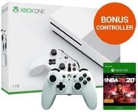 Xbox One S 1TB NBA 2K20 Console Bundle for Xbox One