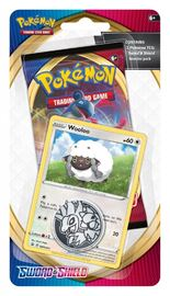 Pokemon TCG: Sword and Shield Checklane Blister- Wooloo image