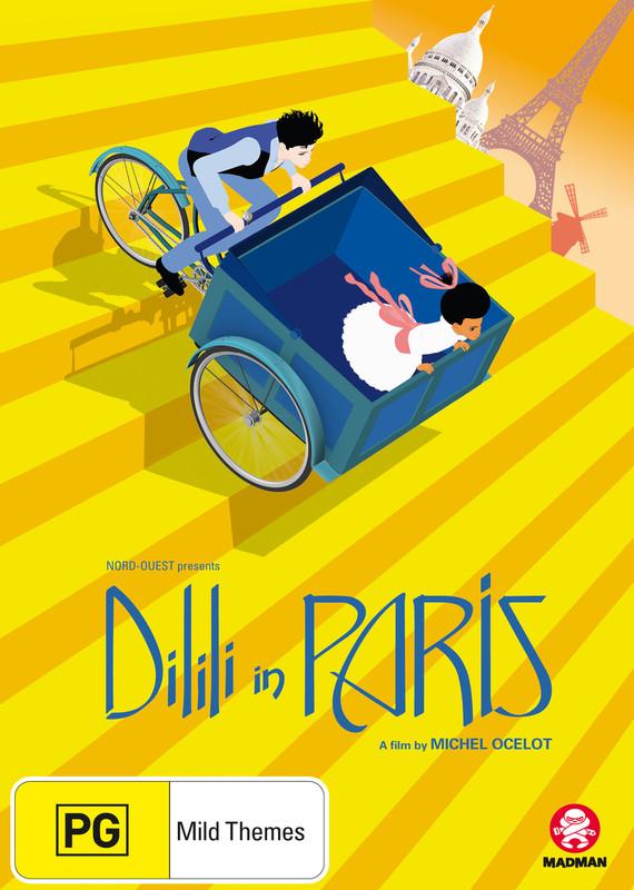 Dilili In Paris on DVD
