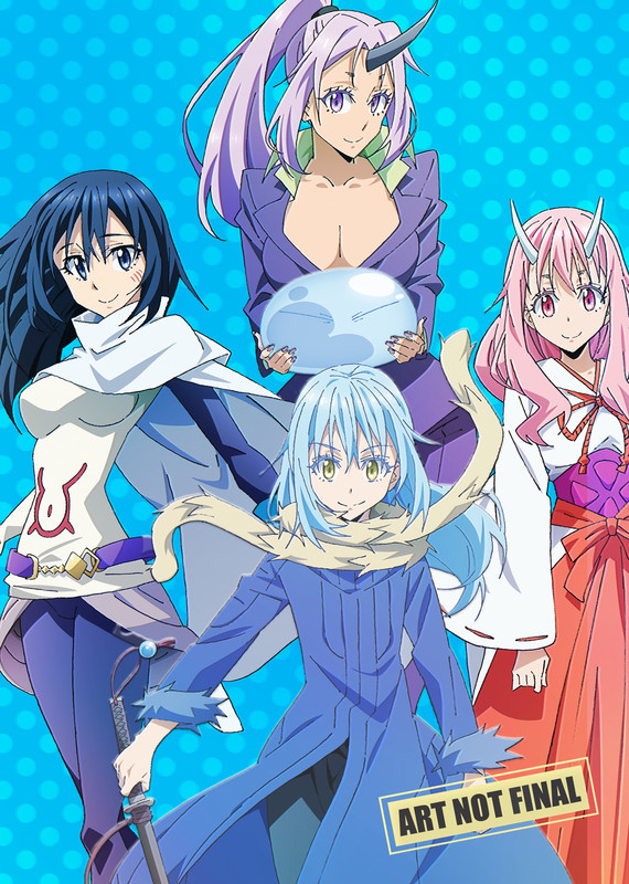 That Time I Got Reincarnated As A Slime - Season One: Part 2 (Eps 13-24) DVD / Blu-ray Combo on DVD, Blu-ray
