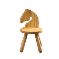 Kids Wooden Zoo Chair - Horse