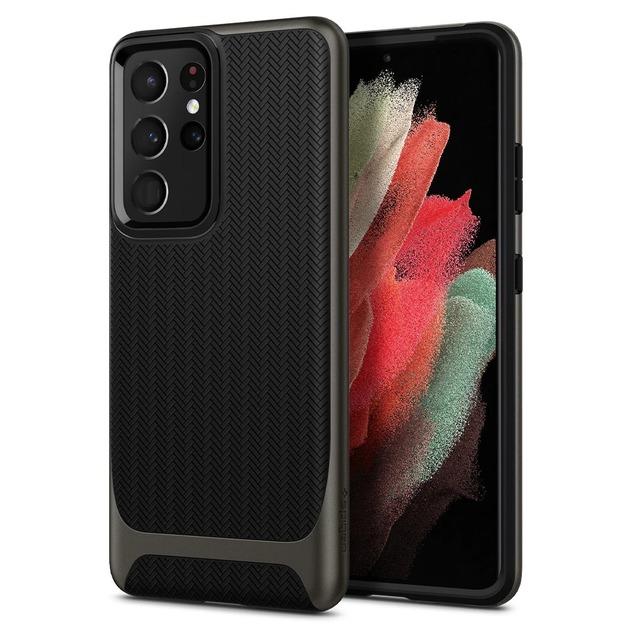 Spigen Neo Hybrid Case for Galaxy S21 Ultra 5G - Gunmetal