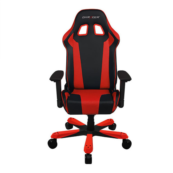 DXRacer King Series KS06 Gaming Chair (Black and Red) image